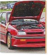 Car Show 034 Wood Print