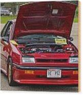 Car Show 036 Wood Print