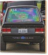 Car Show 038 Wood Print