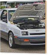 Car Show 045 Wood Print