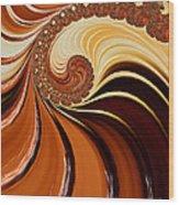 Caramel  Wood Print by Heidi Smith