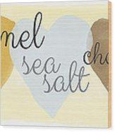Caramel Sea Salt And Chocolate Wood Print