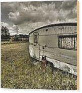 Caravan  Wood Print