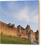 Carcassonne Languedoc Roussillon France Wood Print