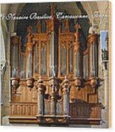 Carcassonne Montage Wood Print