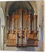 Carcassonne Organ Wood Print