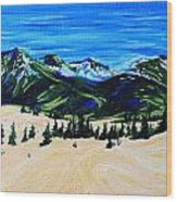 Carcross Desert Wood Print