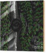 Card17 Wood Print