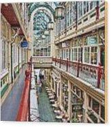 Cardiff Wyndham Arcade 8278 Wood Print