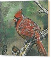 Cardinal 1 Wood Print