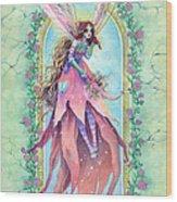Cardinal Fairy Wood Print