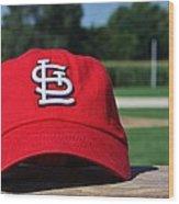 Cardinals In Iowa Wood Print