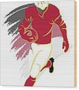 Cardinals Shadow Player2 Wood Print