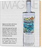 Carey Chen Big Chill Vodka By Jimmy Johnson Wood Print
