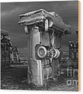 Carhenge 3 Wood Print