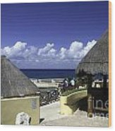 Caribbean Breeze One Wood Print