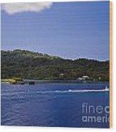 Caribbean Breeze Six Wood Print