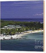 Caribbean Breeze Ten Wood Print