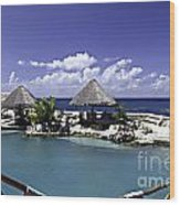 Caribbean Breeze Three Wood Print
