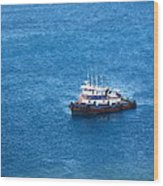Caribbean Cruise - On Board Ship - 1212137 Wood Print