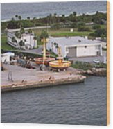 Caribbean Cruise - On Board Ship - 121215 Wood Print