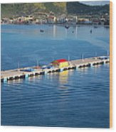 Caribbean Cruise - On Board Ship - 1212152 Wood Print
