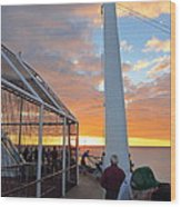 Caribbean Cruise - On Board Ship - 1212165 Wood Print