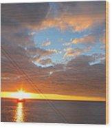Caribbean Cruise - On Board Ship - 1212176 Wood Print