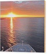 Caribbean Cruise - On Board Ship - 1212185 Wood Print
