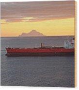 Caribbean Cruise - On Board Ship - 1212188 Wood Print