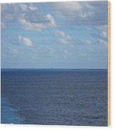 Caribbean Cruise - On Board Ship - 1212214 Wood Print