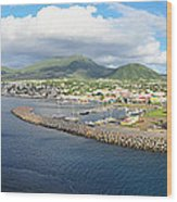 Caribbean Cruise - On Board Ship - 1212230 Wood Print