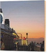Caribbean Cruise - On Board Ship - 121230 Wood Print