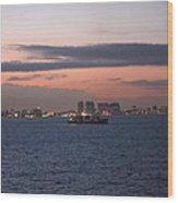 Caribbean Cruise - On Board Ship - 121231 Wood Print
