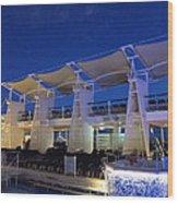 Caribbean Cruise - On Board Ship - 121237 Wood Print