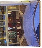 Caribbean Cruise - On Board Ship - 12126 Wood Print