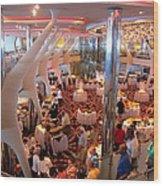 Caribbean Cruise - On Board Ship - 121272 Wood Print