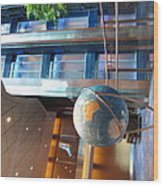 Caribbean Cruise - On Board Ship - 121295 Wood Print