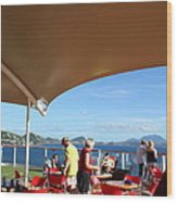 Caribbean Cruise - St Kitts - 121284 Wood Print by DC Photographer