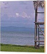Caribbean Lifeguard Wood Print