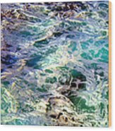 Caribbean Waters Wood Print