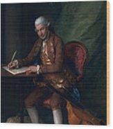 Carl Friedrich Abel, C.1777 Wood Print