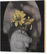 Carlee's Daisy Wood Print
