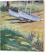 Carlyle Catamaran Wood Print