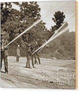 Carmel Fire Department California Circa 1930 Wood Print