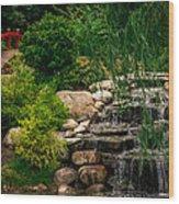 Carmel Indiana Civic Park Wood Print