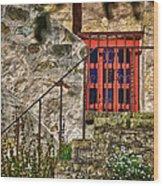 Carmel Mission 10 Wood Print