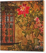 Carmel Mission Wall Wood Print