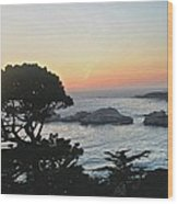 Carmel's Scenic Beauty Wood Print