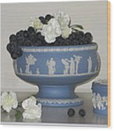 Carnation Grape Togetherness Wood Print